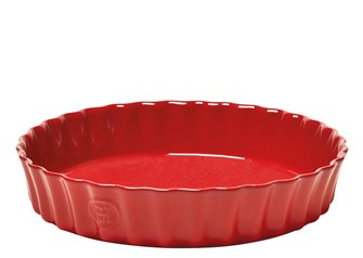 Tourtière céramique haute 24 cm rouge Grand Cru Emile Henry
