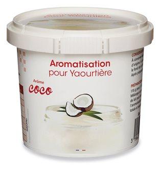 Aromatisation pour yaourtière parfum coco
