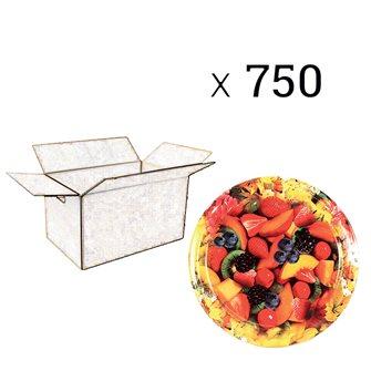 Capsules Twist-off confiture fleurs et fruits diam. 82 par 750