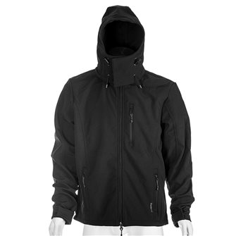 Blouson polaire noir Bartavel Dakota technique Softshell M