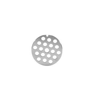 Grille 8 mm pour hachoir à viande électrique REBER type 8, en inox