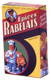 Epices Rabelais 50 g. pour terrines pâtés poulet