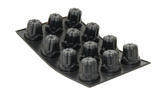 Moule silicone 12 cannelés bordelais festonnés Tradition 1900 De Buyer
