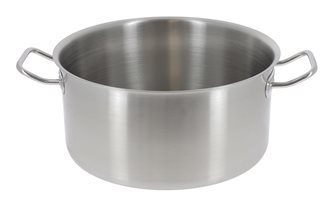 Faitout inox induction 50 cm 43 litres De Buyer