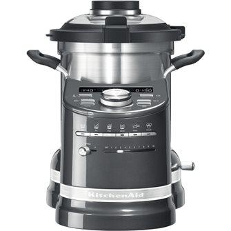 Robot cuiseur préparateur de cuisine tout-en-un gris KitchenAid