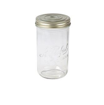Bocal Familia Wiss® 1 litre avec sa capsule et son couvercle