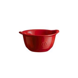 Bol à gratinée en céramique rouge Grand Cru Emile Henry