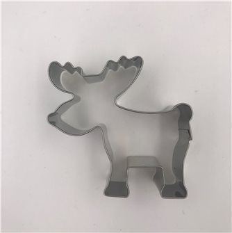 Emporte-pièces élan ou renne 7 cm