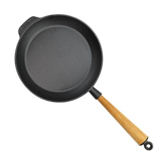 Poêle à frire 24 cm en fonte induction, reconditionnée