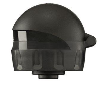 Bouchon tétine anti-fuites avec capuchon Sigg noir pour activités sportives et enfants